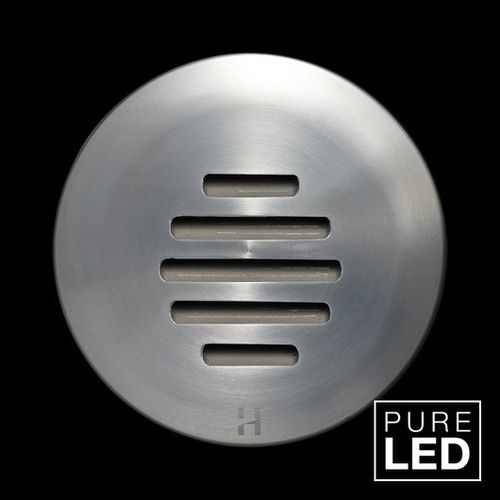 Hunza Step Lite Louvre 6 Watt Pure LED Chromstahl